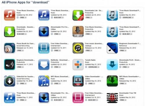MacRumors Music App Search